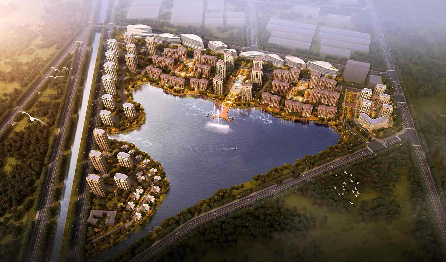 湖心住宅区(在建)